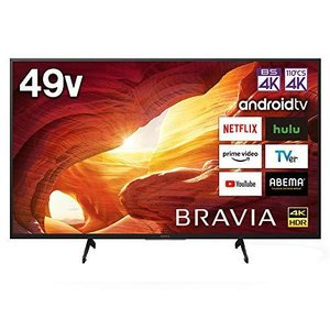 ソニー 49V型 液晶 テレビ ブラビア KJ-49X8000H 4Kチューナー 内蔵 Android TV (2020年モデル)|iron-peace