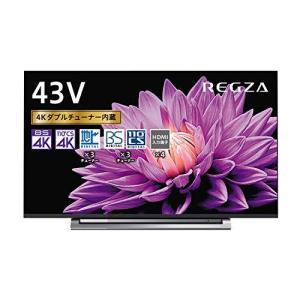 東芝 43V型 液晶テレビ レグザ 43M540X 4Kチューナー内蔵 外付けHDD W録画対応 (2020年モデル)|iron-peace