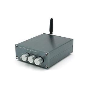 新登場!Bluetooth5.0 デジタル パワーアンプ 100W 2.0チャネル 小型 ステレオ D級 オーディオアンプ 高低音調節?|iron-peace
