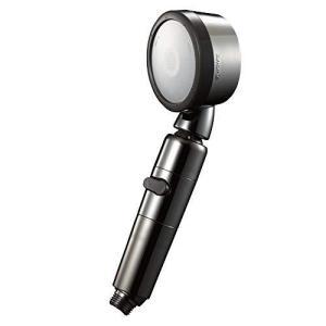 アラミック (Arromic) シャワーヘッド 節水シャワー 3Dプレミアム 角度調整 一時止水 増圧 節水 最大50% シルバー ? iron-peace