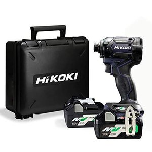 HiKOKI(ハイコーキ) 第2世代36Vインパクトドライバ ディープオーシャンブルー 小型軽量化 ビット振れ軽減 トリガ iron-peace