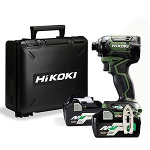 HiKOKI(ハイコーキ) 第2世代36Vインパクトドライバ フォレストグリーン 小型軽量化 ビット振れ軽減 トリガーフィ iron-peace