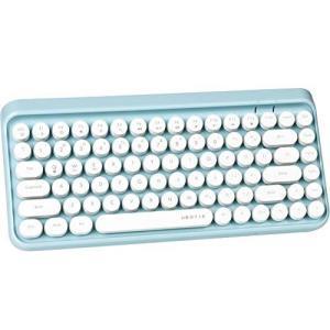 UBOTIEポータブルBluetoothカラフルコンピューターキーボード、ワイヤレスミニコンパクトレトロタイプライター?|iron-peace