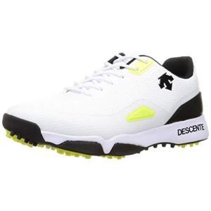 [デサント] ゴルフ 【21年春夏モデル】 ゴルフシューズ メンズ WH00(ホワイト) 25.5 cm iron-peace