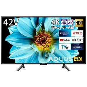 シャープ 42V型 液晶 テレビ アクオス 4T-C42DJ1 4K チューナー内蔵 Android TV (2021年モデル) ブラック|iron-peace