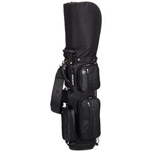 [デサントゴルフ] ゴルフ キャディバッグ 軽量 3.0kg 9.0型 47インチ対応 メンズ BK00(ブラック)|iron-peace