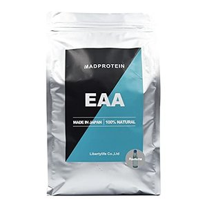 EAA 選べる12種類 国内製造 【MADPROTEIN】マッドプロテイン アミノ酸全種類配合 無添加 (ラムネ, 1kg) iron-peace