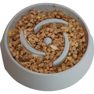 (大型犬用)ゆっくり食べられる食器(60378)