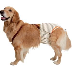 シニア犬や介護が必要なワンちゃんのおもらしや、術後の一時的な尿もれなどにお使いいただけるおむつパンツ...