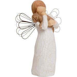 ウィローツリー天使像(Willow Tree)Angel of Friendship 友情(60089)