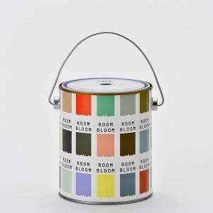 ペンキ 塗料 水性塗料 室内塗料 壁紙の上から 塗装 DIY 全52色 ROOMBLOOM Matt...