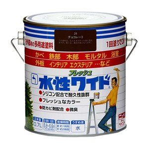 ペンキ 塗料 ニッペ 水性フレッシュワイド 0.7L