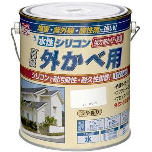 【特長】 ●塩害・酸性雨・排気ガスに強く、耐汚染性・耐久性に優れた水性シリコンアクリル系塗料です。●...