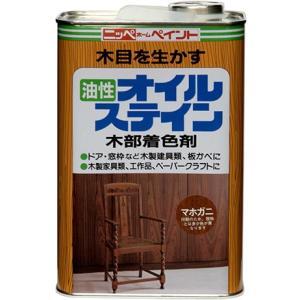 ペンキ 塗料 木部 油性 ステイン ニッペ オイルステイン 1L ニッペホームオンライン
