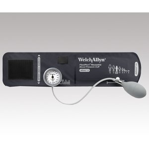 ウェルチアレン デュラショック・ゲージ一体型 アネロイド血圧計 DS44-11 成人用(中) 送料無料|iru-collection