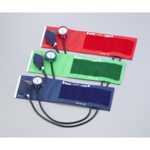 耐衝撃性アネロイド血圧計 No.555 レッド/グリーン/ブルー|iru-collection