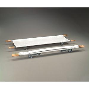 担架 MT−1 二つ折り スチール 7.5kg /折りたたみ/布担架/簡易担架|iru-collection