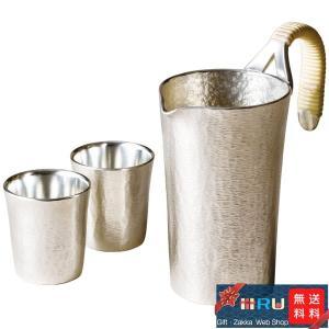 江戸時代後期に創業「大阪錫器株式会社」の熟練職人の技が映える錫製品です。