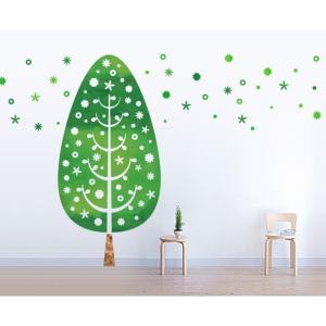 ウォールステッカー 壁紙 おしゃれ 剥がせる 高級感 誕生日 北欧 キッチン リビング 東京ステッカー 植物 ( ツリー・デコレーション ) Sサイズ|iru