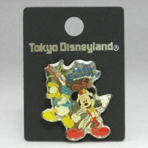 東京ディズニーランド パーティーエキスプレス ミッキー&ドナルド ピン 2001年|is-club