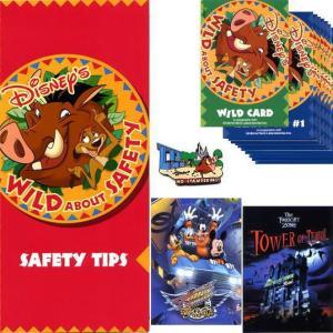 ディズニー プンバァ&ティモン ライオンキング Wild about Safetyピン&カード&リーフ 安全のためのお願い 殺到しない USAパーク|is-club