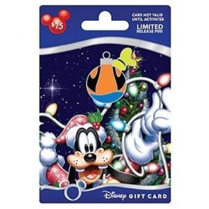 ディズニー グーフィー 2012クリスマスギフトカード・ピン USAディズニーテーマパーク 2012年 新品 is-club