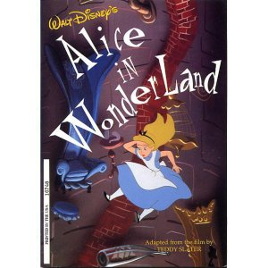 ディズニー 洋書 ふしぎの国のアリス ストーリーブック Disney Press社 1995年 USA|is-club