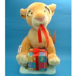 ディズニー キアラ ライオンキング クリスマスディスプレイフィギュア TELCO社 1998年 生産終了品 乾電池使用 動作確認済|is-club