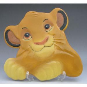 ディズニー シンバ ライオンキング 陶器プレート Treasure Craft社 生産終了品 USA|is-club