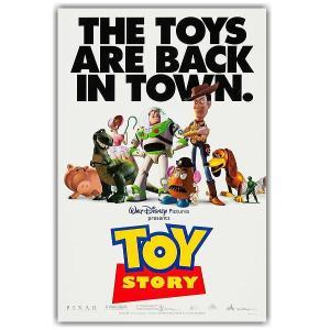ディズニー アメリカ製オリジナルムービーポスター 両面印刷 『Toy Story』 トイ・ストーリー...