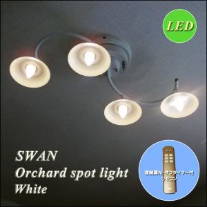 LED オーチャードスポットライト ASP-801WH ホワイト  調光 リモコン 省エネ エコ|is-interior