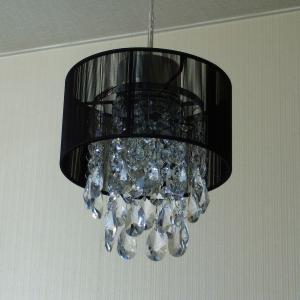 シャンデリア ペンダントランプ ブラック 可愛い  北欧 おしゃれ LED対応 天井照明|is-interior|02