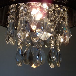 シャンデリア ペンダントランプ ブラック 可愛い  北欧 おしゃれ LED対応 天井照明|is-interior|03