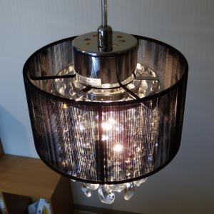 シャンデリア ペンダントランプ ブラック 可愛い  北欧 おしゃれ LED対応 天井照明|is-interior|04