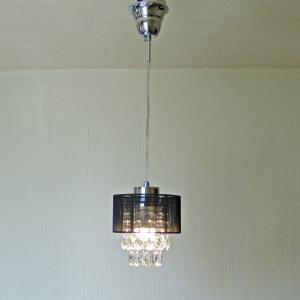 シャンデリア ペンダントランプ ブラック 可愛い  北欧 おしゃれ LED対応 天井照明|is-interior|05