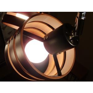 照明 4灯クロススポットライト ダークブラウン LED対応 北欧 リモコン ウッド 100W 277DBR|is-interior|04