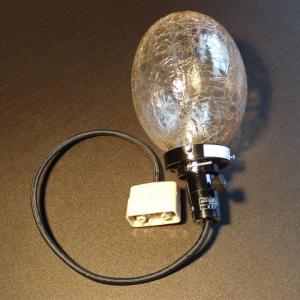 天井照明 ペンダントランプ Cube たまごヒビランプ アンバー ガラス 北欧 ミッドセンチュリー|is-interior|05
