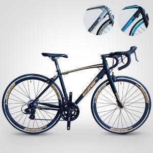 ロードバイク かっこいい 700C シマノ 14段変速 軽量アルミ マット 艶消し 自転車本体 通勤 通学 700x23 コスパ 新色 CEIZER アイゼル R101|isdinf