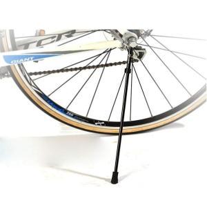 サイドスタンド キックスタンド  自転車 折りたたみ  携帯 取り外し 黒 ブラック クイックリリース コンパクト ロードバイク カーボン isdinf