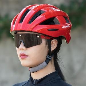 テールライト一体型 自転車用ヘルメット 男性用 女性用 男女兼用 ユニセックス 大人用 通勤通学|isdinf