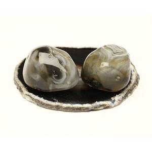 塩水入り瑪瑙(めのう) No.428 ise-miyachu
