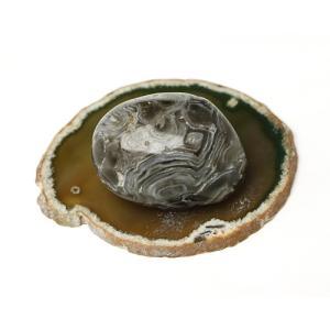 塩水入り瑪瑙(めのう) No.438 ise-miyachu