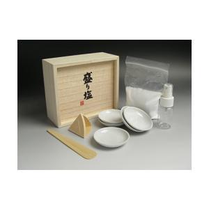 携帯用 盛り塩 セット (盛塩 固め器 三角錐) ise-miyachu