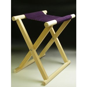 胡床 紫テトポプ 楢樫製 ise-miyachu