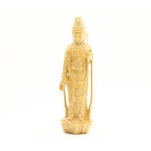 木彫り彫刻 観音菩薩 聖観音 (ミニ) No.2(ポイント2倍)