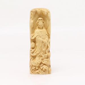 木彫 立観音(持珠観音) No.2