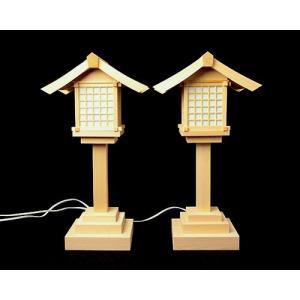 主に屋内社殿などでご使用いただいております。 K-4などの大きめの家庭用神棚や、大きめの灯籠をご希望...