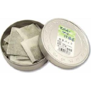 手軽に飲めるティーパックが、かわいい茶缶に入ってます。ご注文頂いてから袋詰めしています。