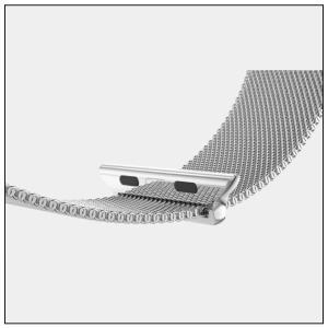 アップルウォッチ 38・40mm / 42・44mm ( 要選択 ) 交換 ステンレス スチール ループ バンド isense 17