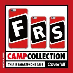 キャンプ レッド×ブラック for iPhone X / iPhone 8・7 ( ハードケース / 硬い素材 ) isense